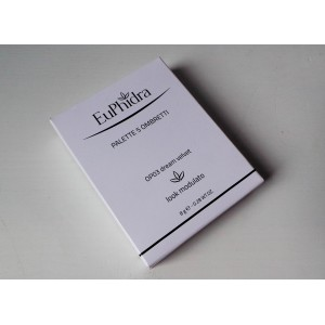 Euphidra Palette 5 Ombretti Dream Velvet Look modulato