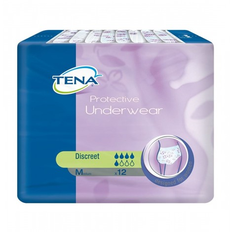 TENA LADY protective underware discreet medium