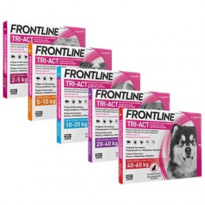 Frontline TRI-ACT spot-on per cani