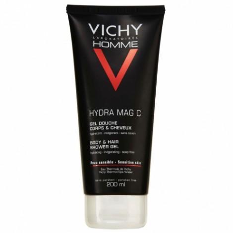 Vichy Homme Hydra Mag C gel doccia corpo e capelli