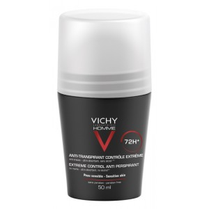 Vichy Homme Deodorante roll-on effetto lenitivo 48h