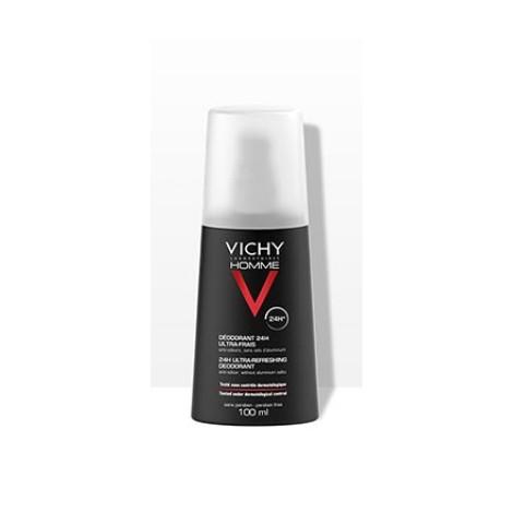 Vichy Homme deodorante vapo ultra-fresco 24h