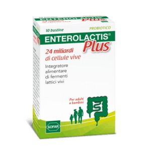 Enterolactis plus 24 miliardi di cellule vive