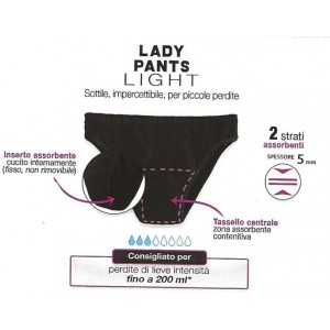Slipss Lady Pants Light Donna
