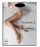 Calza autoreggente Solidea Marilyn 70 Open Toe